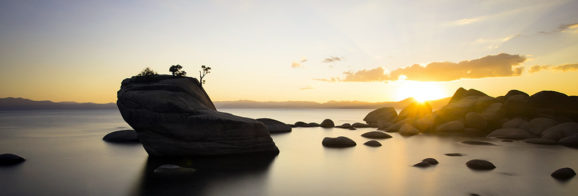 Bonsai Rock - North Tahoe