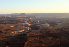 Green River Overlook Sunset