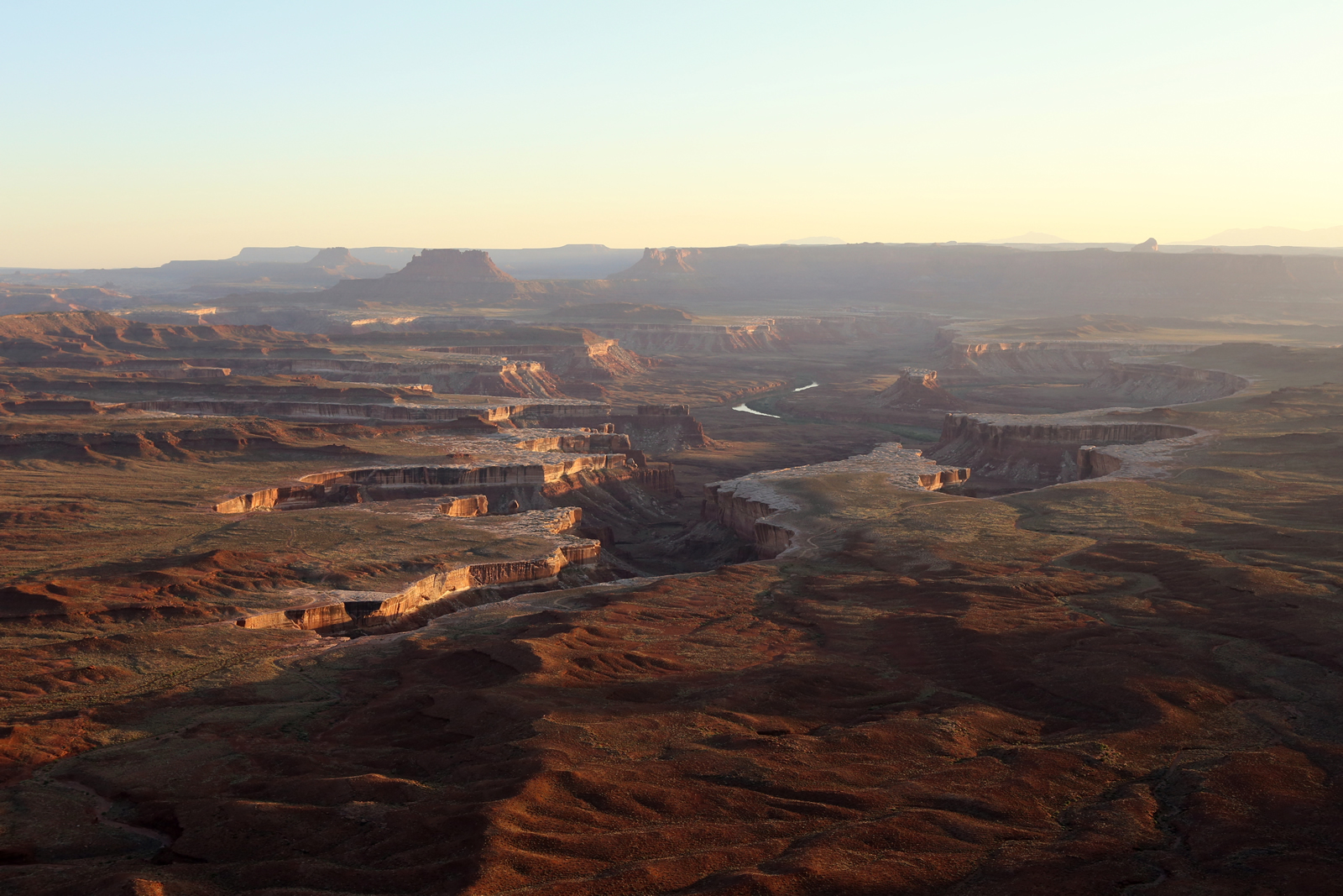 Green River Overlook - Island in the Sky Sunset Canyonlands